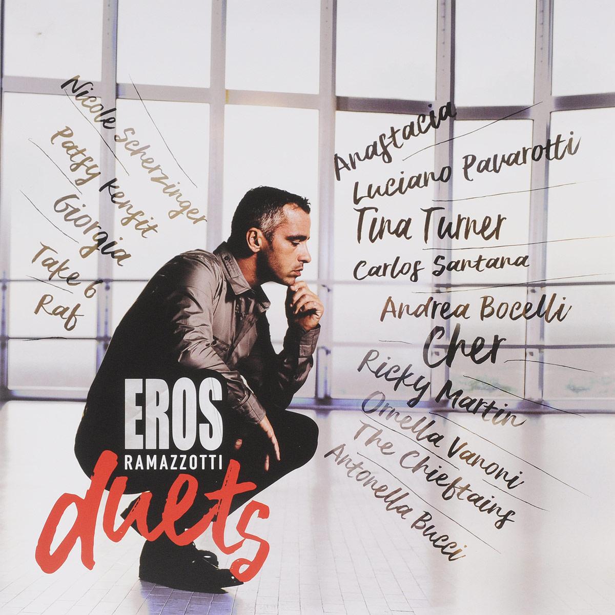 цена на Эрос Рамазотти Eros Ramazzotti. Eros Duets (2 LP)