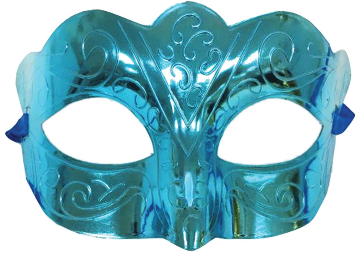 Фото - Маска карнавальная Блестящая бирюза, 15,5 х 9 х 7,5 см маска карнавальная magic time блестящая цвет красный 75238