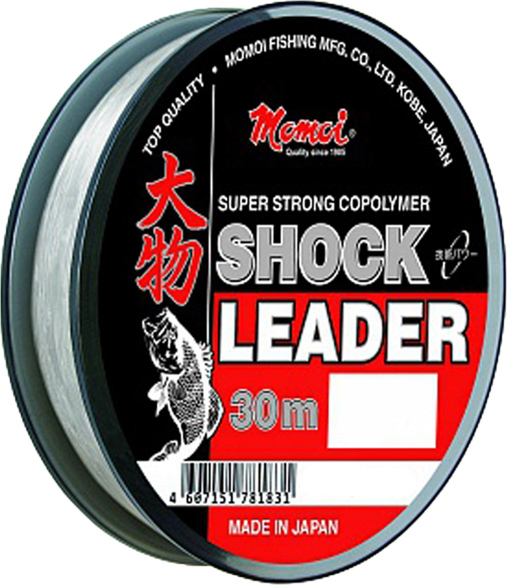 Леска зимняя Momoi Fishing Shock Leader, 30 м, 0,33 мм, 12,5 кг