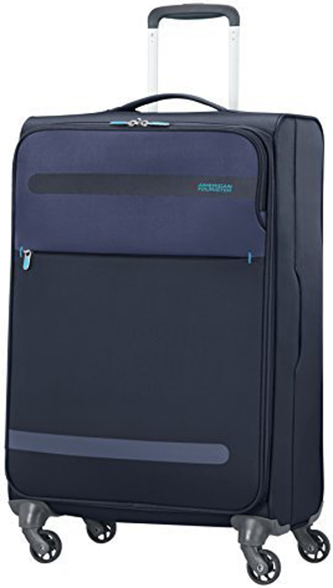 Чемодан American Tourister Herolite, цвет: темно-синий, 68 л. 26G-01005 new original ijoy saber 100 20700 vw kit with 3000mah battery