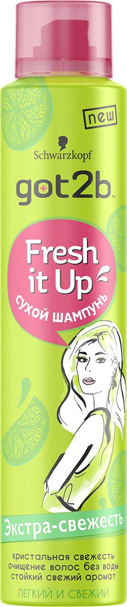 Got2b Fresh it Up Парфюмированный сухой шампунь