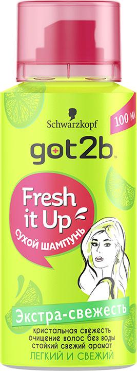 Got2b MINI Fresh it Up Парфюмированный сухой шампунь Экстра-свежесть, легкий и свежий got2b fresh it up парфюмированный сухой шампунь объем тропический бриз