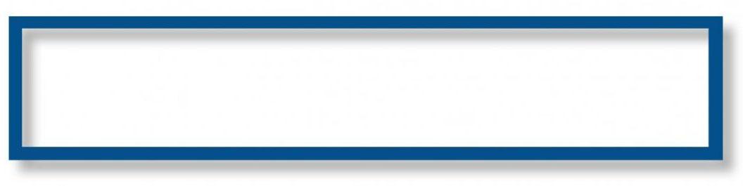 Магнитная слайд-рамка синяя 5 шт