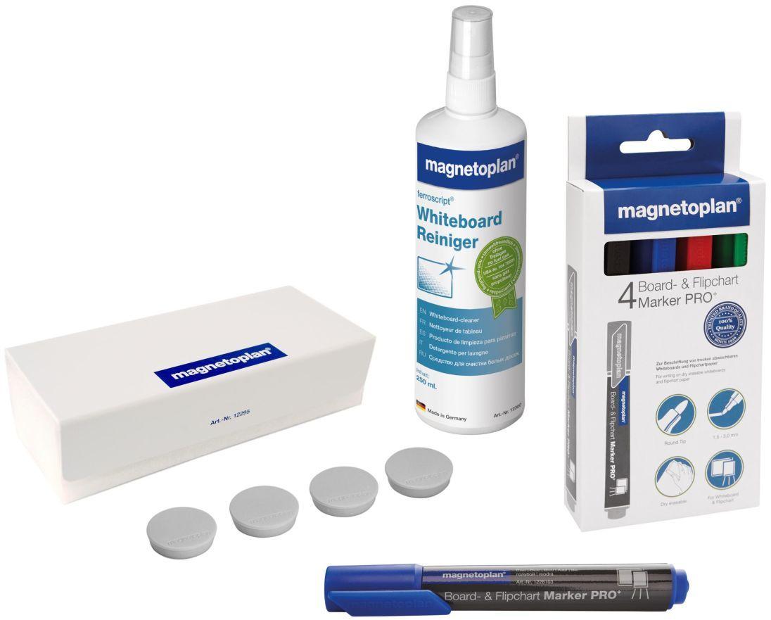 Мини-набор принадлежностей для магнитно-маркерных досок и флипчартов