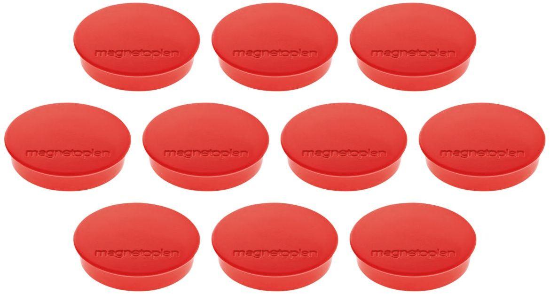 Magnetoplan Standart Набор магнитов красные 10 шт цена
