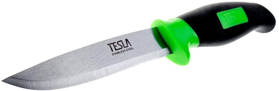 Нож универсальный Tesla KU-1 нож универсальный tesla ku 1 лезвие из нержавеющей стали рукоятка из пластмассы в ножнах