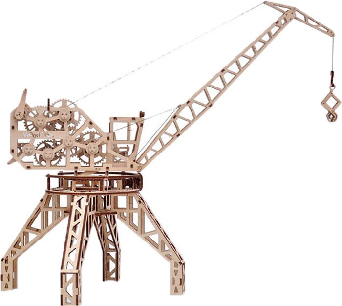Механический конструктор из дерева Wood Trick Кран