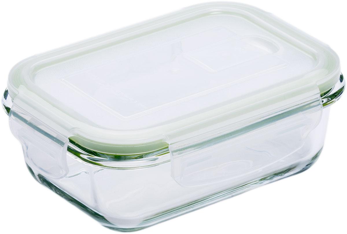 Контейнер пищевой Eley, прямоугольный, цвет: зеленый, 370 мл. ELP2401G цена