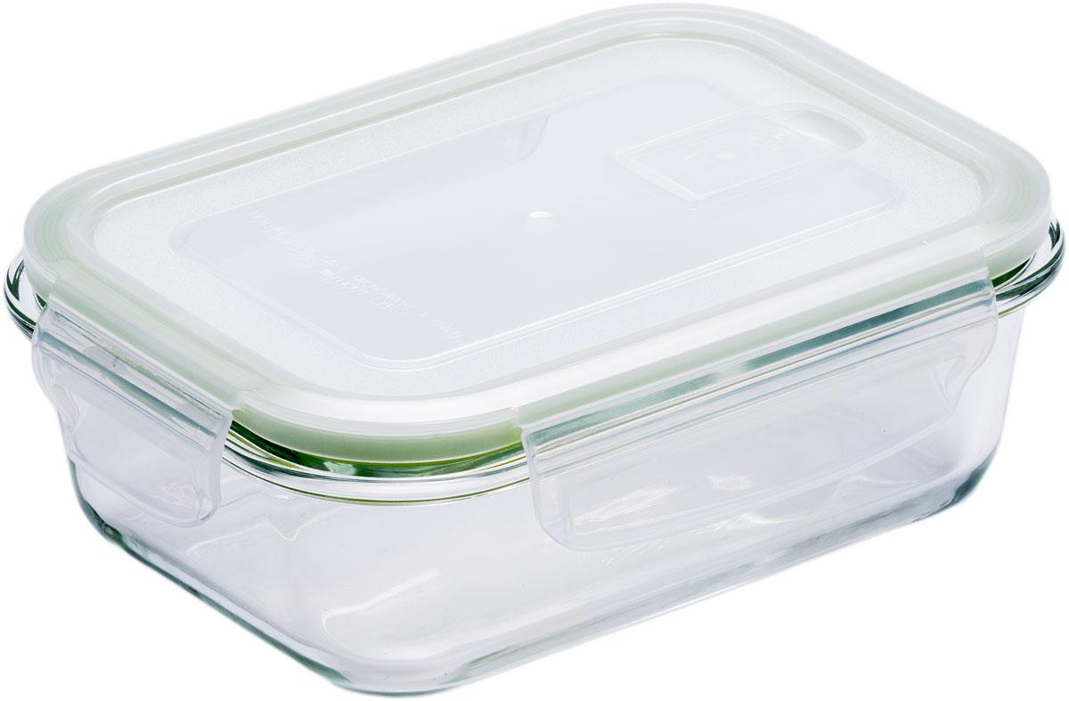 Контейнер пищевой Eley, прямоугольный, цвет: зеленый, 630 мл цена