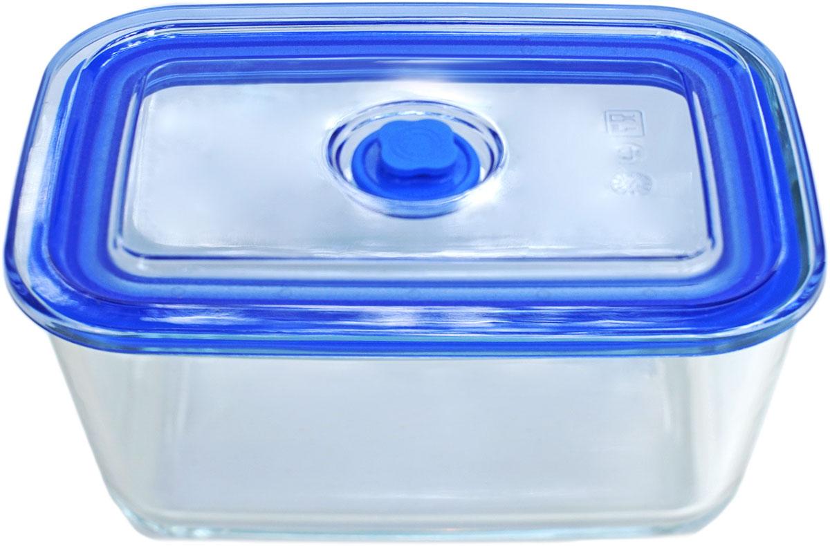 Контейнер пищевой Eley, прямоугольный, цвет: синий, 500 мл контейнер пищевой eley прямоугольный цвет баклажан 1 6 л