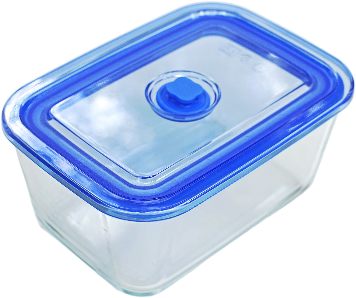 Контейнер пищевой Eley, прямоугольный, цвет: синий, 1,5 л контейнер пищевой eley прямоугольный цвет баклажан 1 6 л
