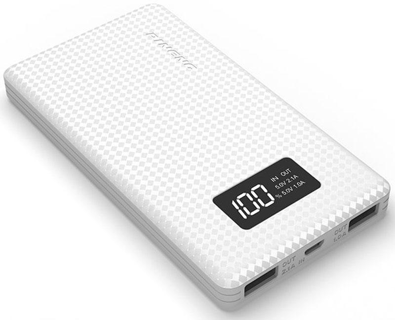 Pineng PN-960, White внешний аккумулятор (6000 мАч)