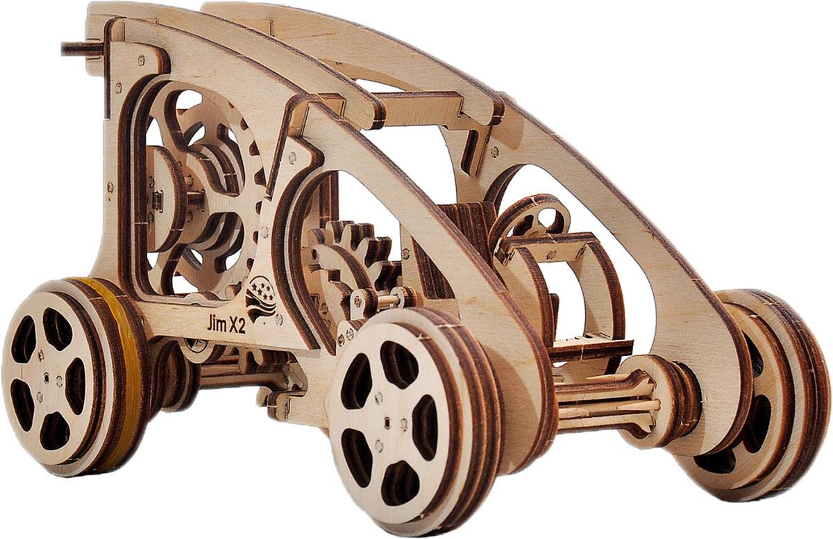 Механический конструктор из дерева Wood Trick Багги