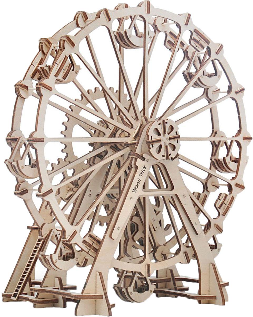 Механический конструктор из дерева Wood Trick Колесо Обозрения