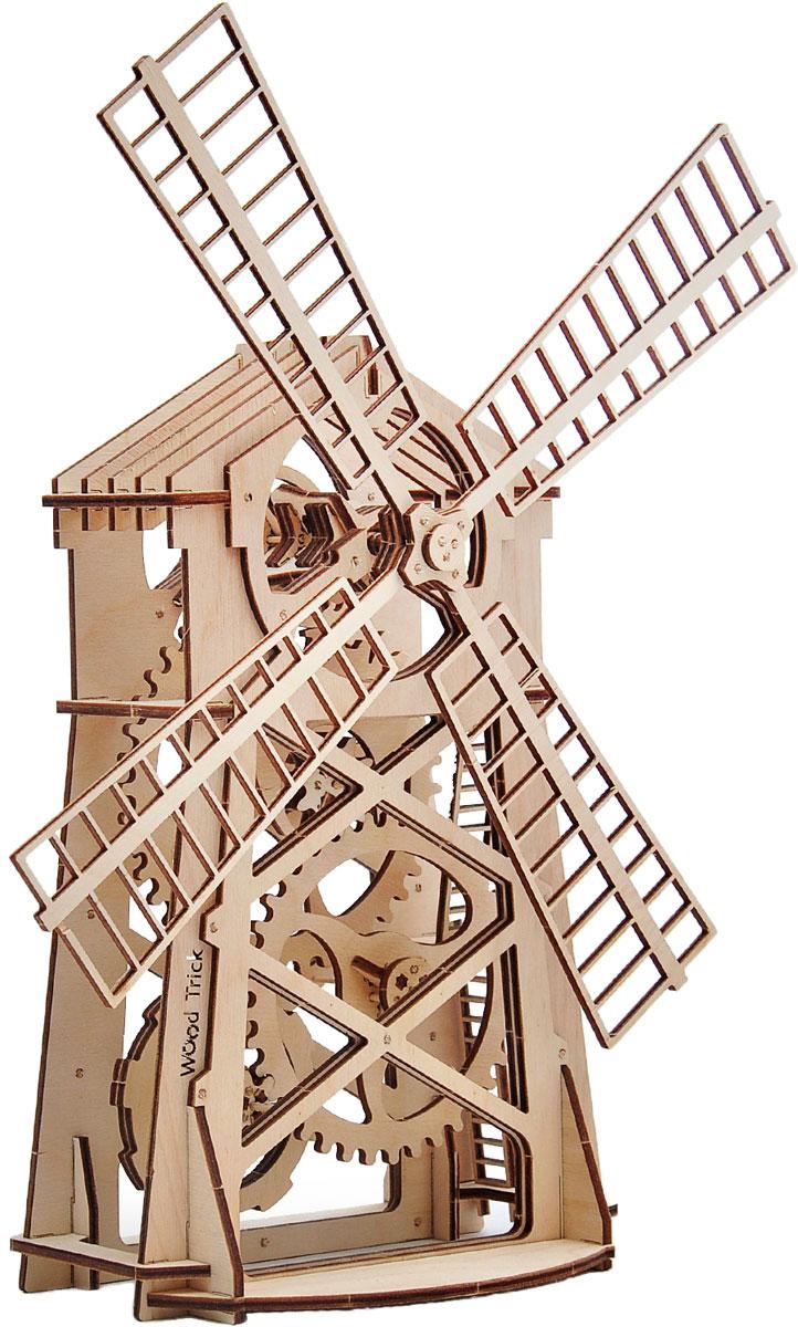 Механический конструктор из дерева Wood Trick Мельница