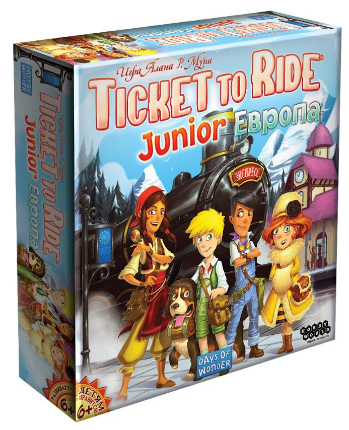 Hobby World Настольная игра Ticket to Ride Junior Европа цена