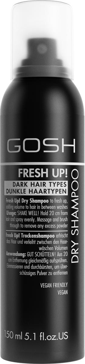 Gosh Сухой шампунь для волос Fresh Up!, 150 мл для волос шампуни