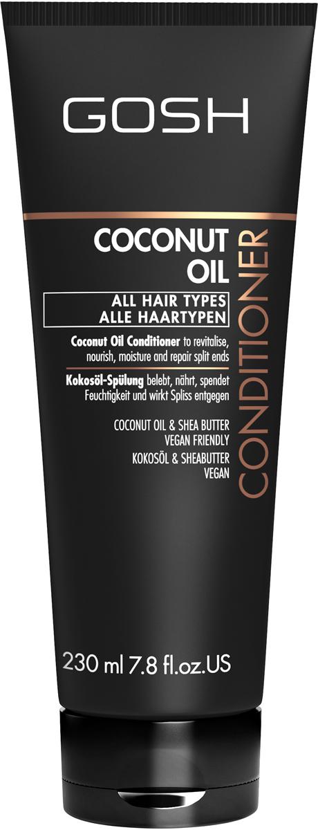 Gosh Кондиционер для волос с кокосовым маслом Coconut Oil, 230 мл