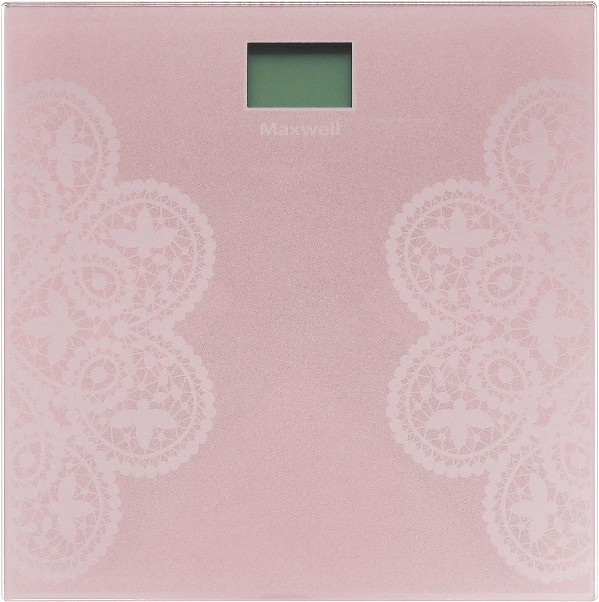 Напольные весы Maxwell MW-2672(PK) цена и фото