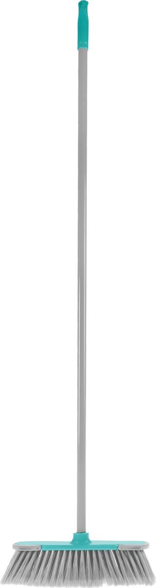 Еврошвабра Home Queen, со съемной ручкой, цвет: серый