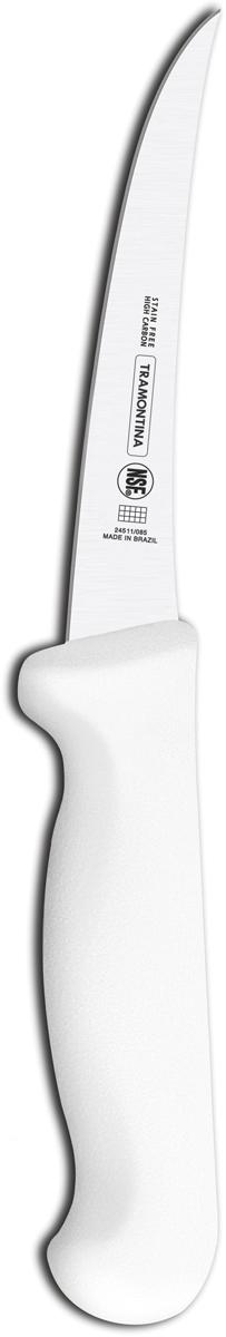 """Нож разделочный Tramontina """"Proffecional Master"""", цвет: белый, длина лезвия 12,5 см. 24511/085-TR"""