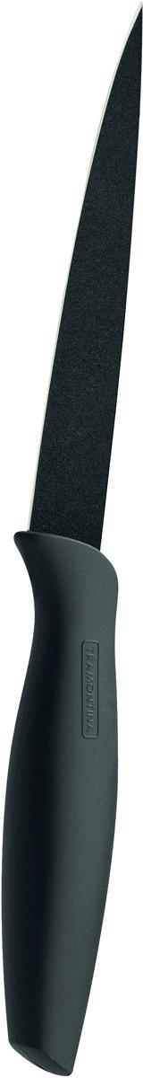 """Нож универсальный Tramontina """"Onix"""", цвет: черный, длина лезвия 12,5 см"""