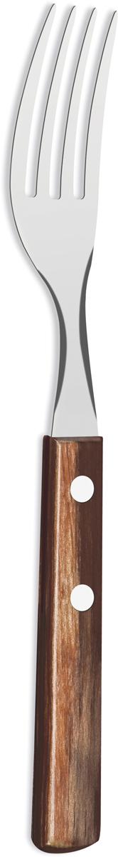 """Вилка столовая Tramontina """"Polywood"""", цвет: коричневый, длина 20 см"""