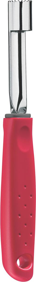 """Нож для вырезания сердцевины яблок Tramontina """"Utilita"""", цвет: красный"""