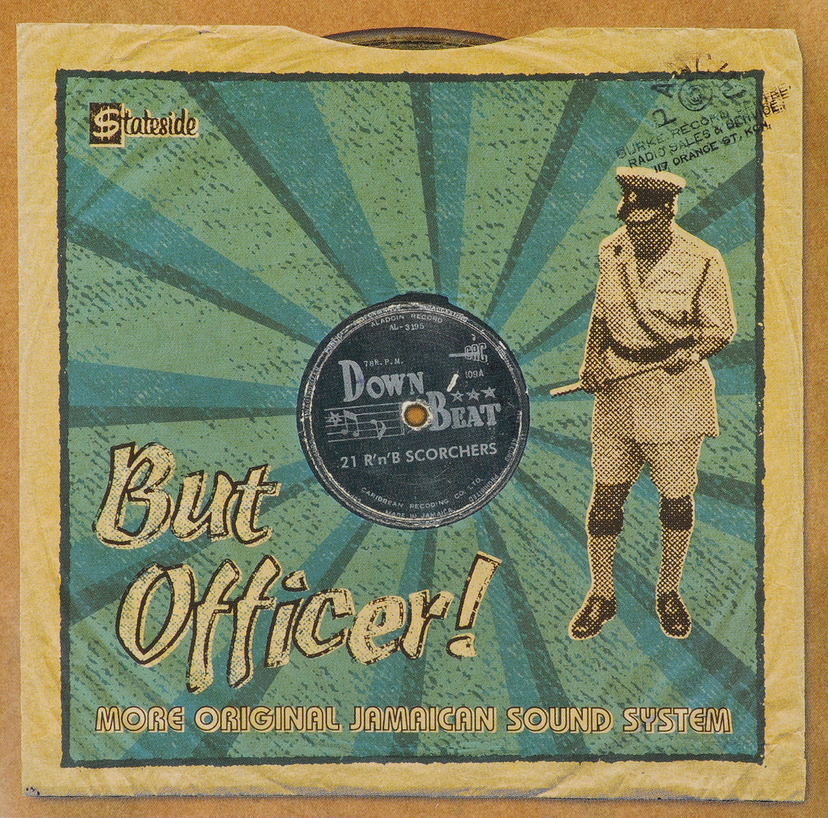 But Officer! More Original Jamaican Sound System джимми клифф деррик морган inner circle макс ромео эрик дональдсон джуниор байлз джеки эдвардс sound system the story of jamaican music 8 cd