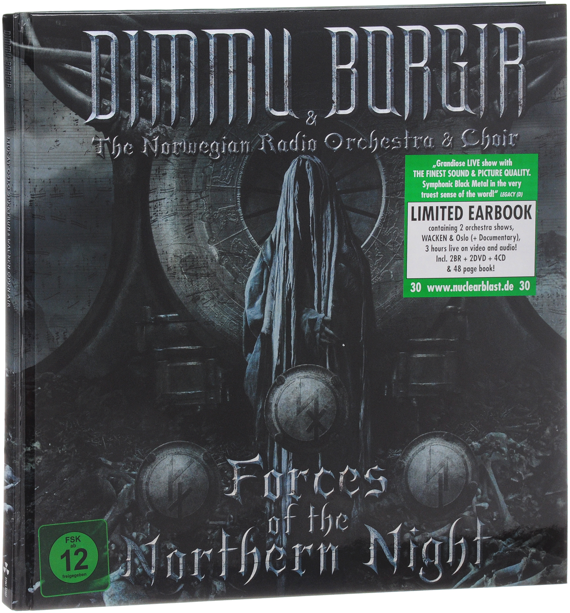 Dimmu Borgir & The Norwegian Radio Orchestra & Choir: Forces Of The Northern Night: Limited Earbook (2 Blu-ray + 2 DVD + 4 CD) цена и фото