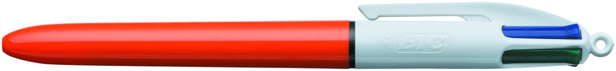 Bic Ручка шариковая Colours Fine 4 цвета ручка шариковая bic 4 colours fine автоматическая 0 36 мм 4 цвета