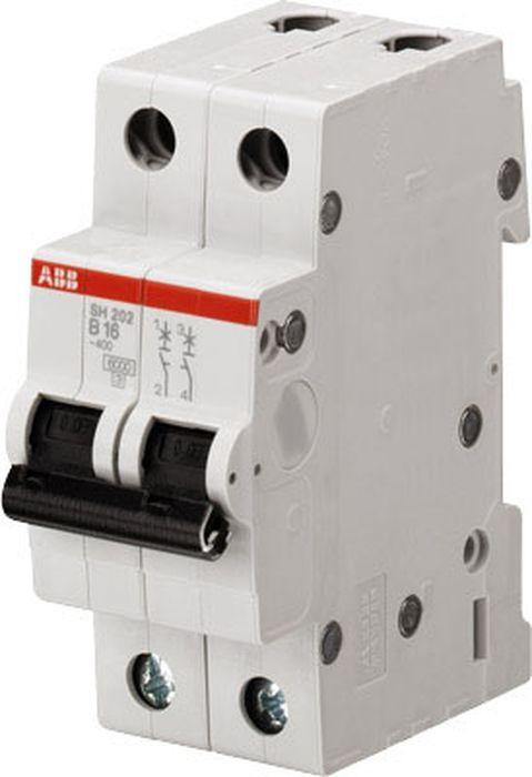 Выключатель автоматический ABB SH202L, 2P 25А (С) 4,5kA автоматический выключатель sh202l 2p 10а с 4 5ка