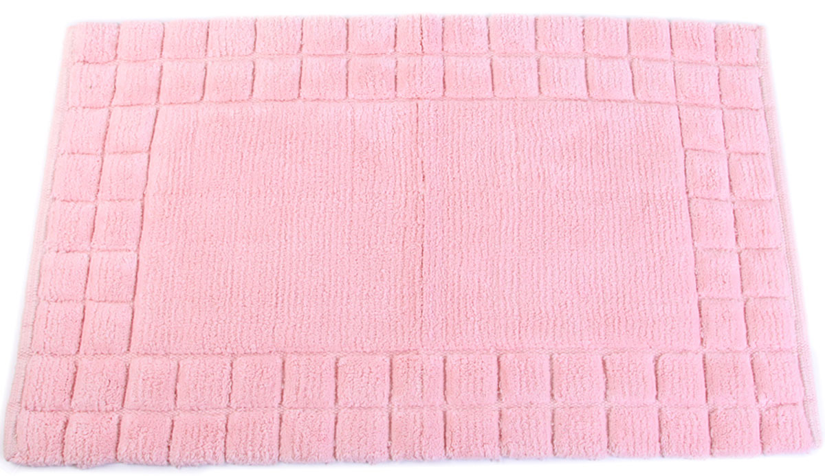 Фото - Коврик для ванной Arloni, самотканый, цвет: розовый, 50 x 80 см. 204/5ARL arloni коврик самотканный для ванной