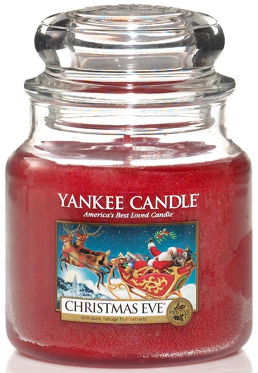 Свеча ароматизированная Yankee Candle Christmas еve, высота 12,7 см свеча ароматизированная yankee candle angel wings высота 12 7 см