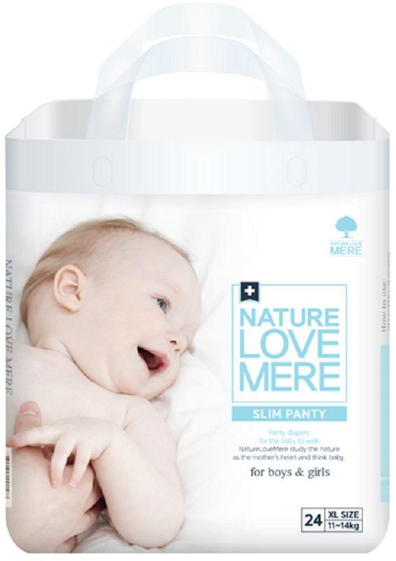 Nature Love Mere Подгузники-трусики Slim Premium от 11 кг 24 шт