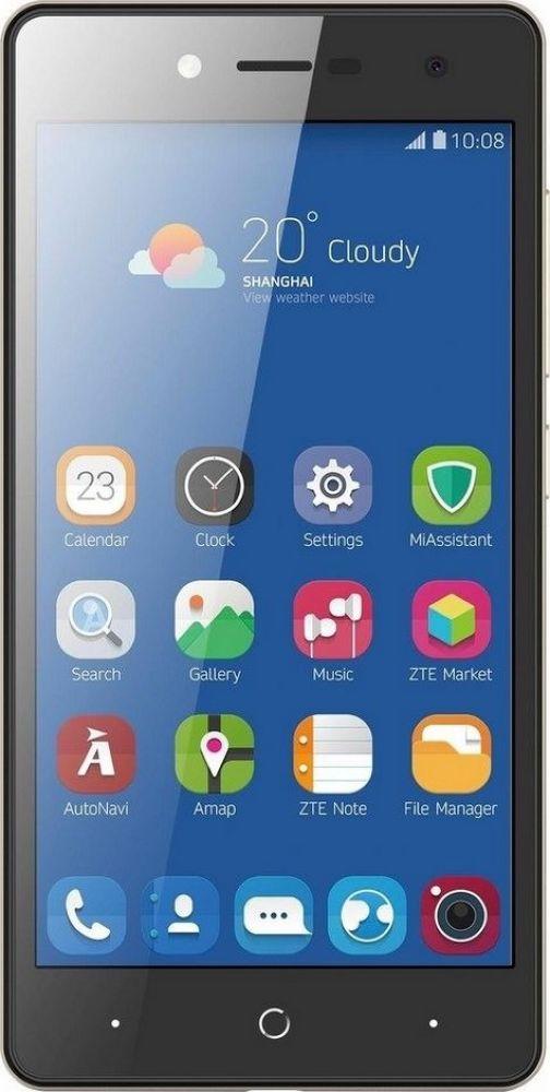 Смартфон ZTE Blade L7 1/8GB, черный. Уцененный товар смартфон zte blade l7 black