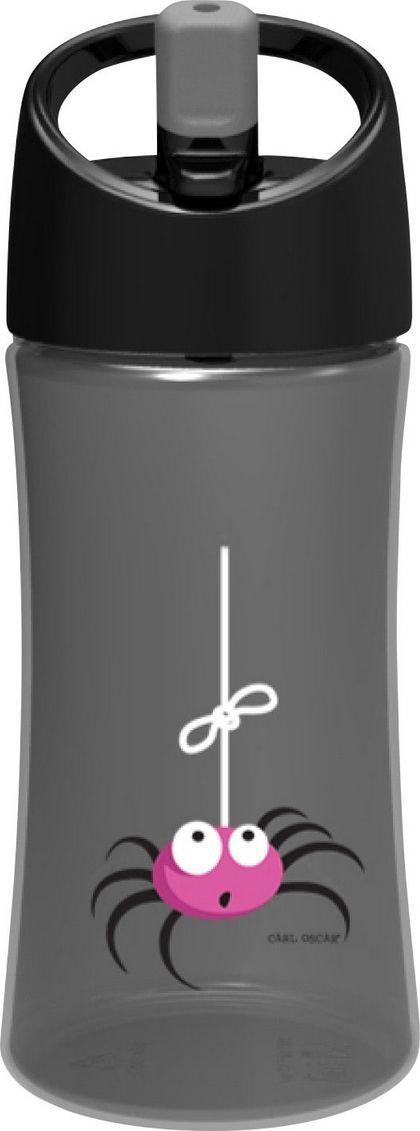 Бутылка Carl Oscar для воды детская Spider, 350 мл, серый бутылка для воды aquapad™ 0 4л белая carl oscar aquapad™