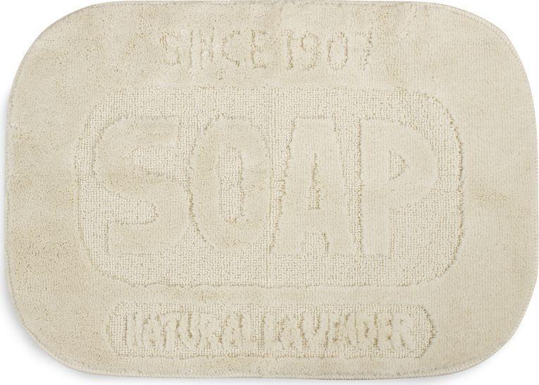 """Коврик для ванной Balvi """"Soap"""", цвет: молочный, 50 х 70 см"""