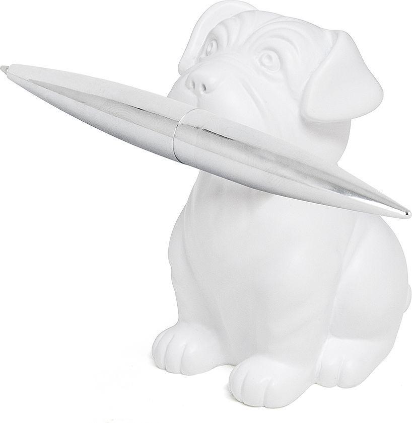 Balvi Набор ручки и пресс-папье Woof! цвет белый