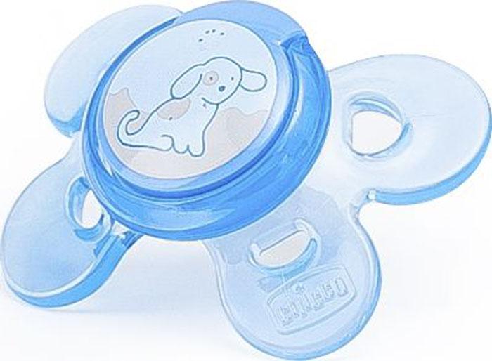 Chicco Пустышка силиконовая Physio Comfort от 0 до 6 месяцев, цвет в ассортименте