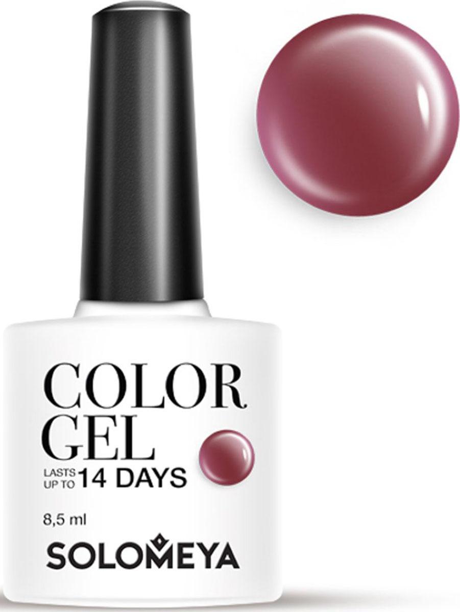 Solomeya Гель-лак Color Gel, тон Puce SCG065 (Красновато-коричневый), 8,5 мл цена и фото