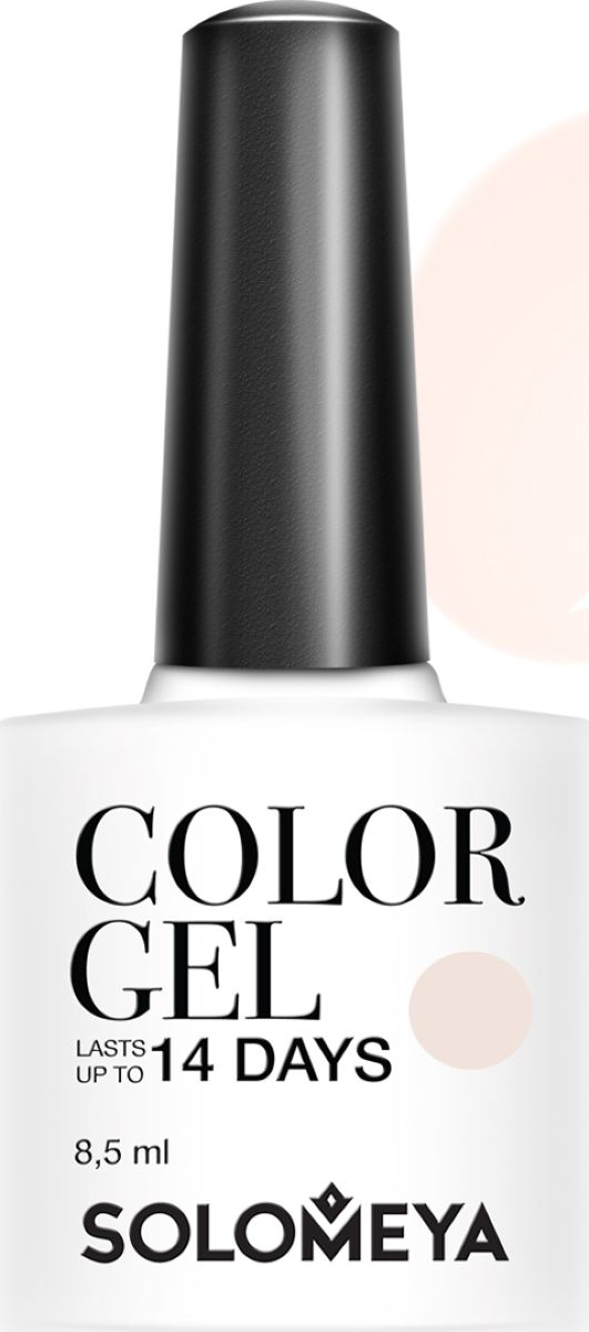 Solomeya Гель-лак Color Gel, тон My tender SCGK007 (Мой нежный), 8,5 мл solomeya гель лак color gel тон beret scg034 берет 8 5 мл