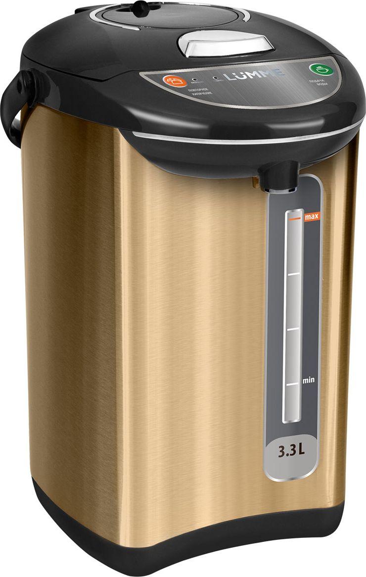 Термопот Lumme LU-299, Gold Black