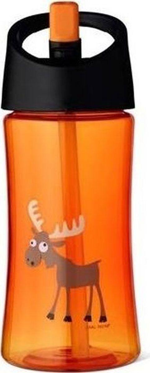 Бутылка Carl Oscar для воды детская Moose, 350 мл, оранжевый бутылка для воды aquapad™ 0 4л белая carl oscar aquapad™