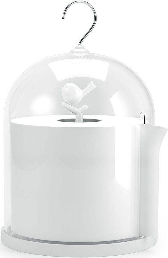 Держатель для туалетной бумаги Balvi Birdie, цвет: белый балдахины для кроваток bebe luvicci baby birdie