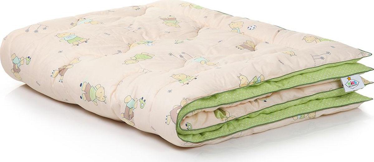 Belashoff Kids Одеяло детское Наша Умничка цвет бежевый зеленый 110 x 140 см