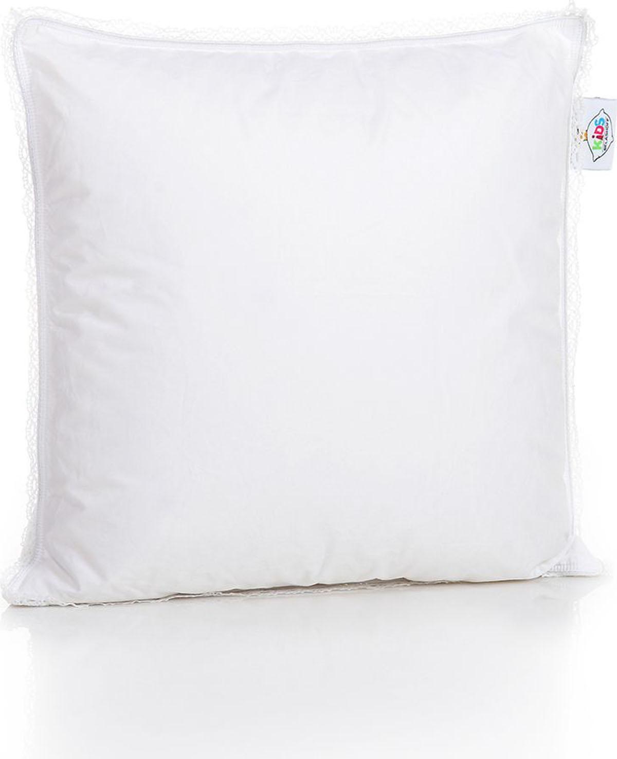 Belashoff Kids Подушка детская Наше Счастье цвет белый 40 x 40 см