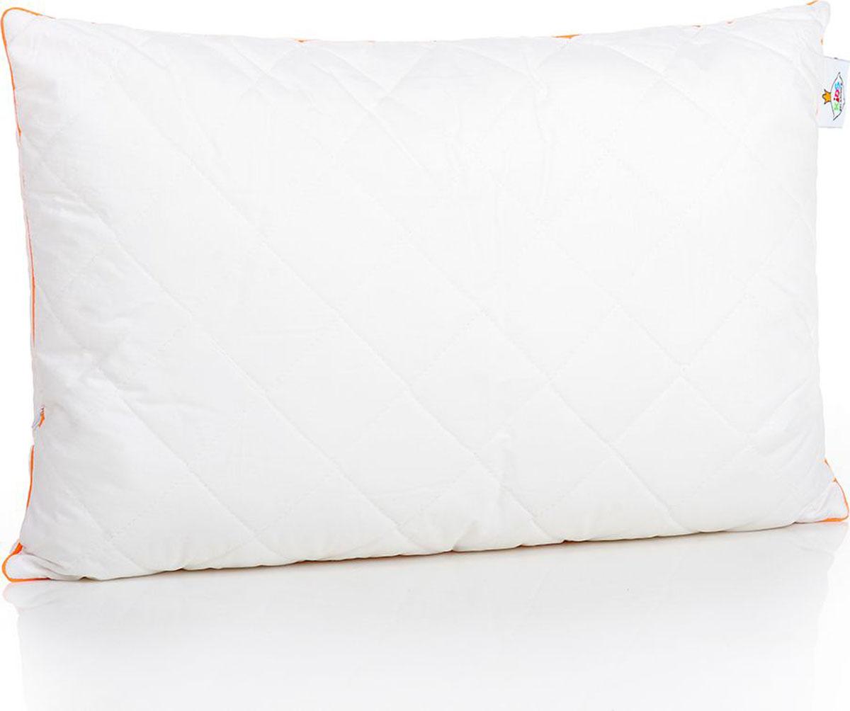 Belashoff Kids Подушка детская Наша Гордость цвет белый 50 x 70 смКХП4Коллекция Наша Гордость – качественные продукты для спокойного детского сна! Ткань верха – перкаль (100% хлопковая ткань) белая, как цветок хлопка.Внутри – пласты натурального хлопкового волокна, которое хорошо впитывает лишнюю влагу и выводит ее на поверхность, гипоаллергенно.В подушки (40х40, 40х60 и 50х70) для большей упругости и мягкости мы добавили полое силиконизированное волокно. Это современный очень нежный наполнитель, который безопасен для детей.Наличие молнии в подушках позволяет регулировать степень упругости и поддержки самостоятельно. Рекомендуем!