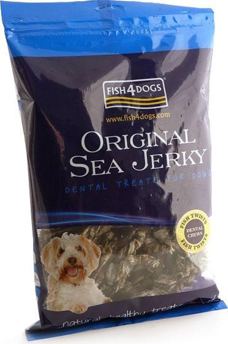 Лакомство для собак Sea Jerky Fish Twists, с рыбой, 500 гJFT529Sea Jerky Fish Twists - твисты из 100% запеченной кожи рыб. Эти низкокалорийные угощения имеют шероховатую текстуру, которые не только помогут удалить зубной камень, но и очень вкусные.