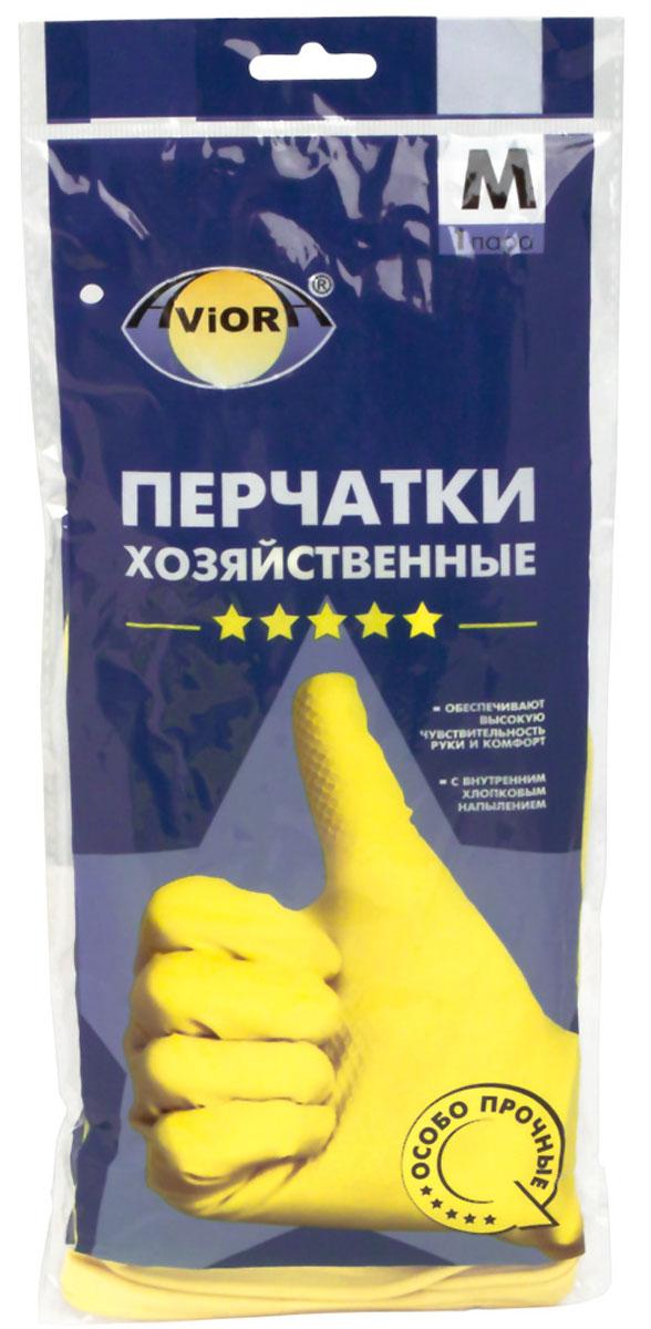 """Перчатки хозяйственные """"Aviora"""", резиновые, 5 звезд, размер 8 (M)"""
